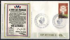 1975-Enveloppe illustrée-Appel du 18 Juin-De Gaulle-Vassieux/Vercors-Yt.1264
