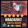 Pokemon Sword Shield SHINY 6IV Dracozolt and BATTLE READY IV Competitive FAST