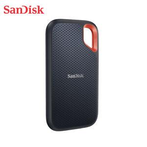 SanDisk 500GB 1TB 2TB Portable SSD Solid State Drive USB 3.2 USB-C +Tracking#