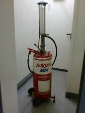Zapfsäule Benzinsäule 2-Takt 1:25 Gemisch Retro Vintage Horn Flensburg Exxon