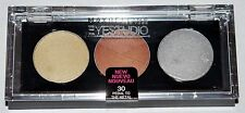 Maybelline New York EYESTUDIO Cream Eyeshadow Trio #30 PEDAL TO THE METAL .10 oz