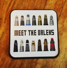 Daleks in Doctor Who Square Coaster