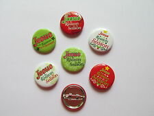 48 JESUS IS THE REASON for the SEASON PINS Christmas religious mini buttons