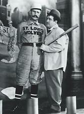 """BUD ABBOTT & LOU COSTELLO - GLOSSY 8"""" x 10"""" PHOTO- WHO'S ON FIRST?"""