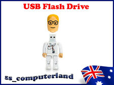 [2x] Brand New White Doctor Design 8GB USB 2.0 Memory Stick USB Flash Drive