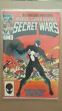 Secret Wars #8 1st Black/Alien Costume Marvel