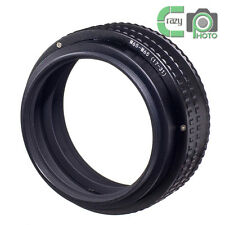 M65 to M65 17-31mm Adjustable Focusing Helicoid Adapter Macro Tube 17mm-31mm