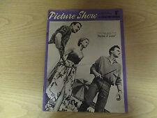 March 1957, PICTURE SHOW, Muriel Pavlow, Fess Parker, Ann Sheridan, D Bogarde.