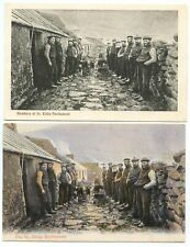 "c.1906 TWO postcards ""ST KILDA PARLIAMENT"""