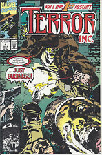 Terror Inc. #1 (7-92) Terror: an eternal entity that absorbs the power of others