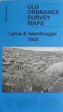 Old Ordnance Survey Maps Larne & Islandmagee 1900 & Map Glynn Ireland Sheet 21