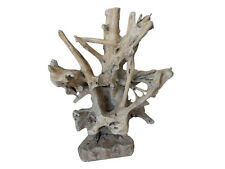 TEAK Skulptur Wurzelholz Treibholz Schwemmholz Altholz Altholz Dekoration