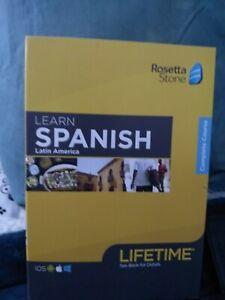 Rosetta stone spanish latin america