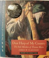 Dear Harp Of My Country Book 2 Cd's Melodies Of Thomas Moore Sung By J. Flannery