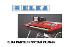 ELKA PANTHER, User Manual, Plug-in, Manuale d'uso,