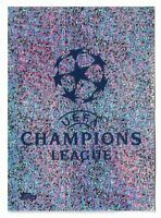 CHAMPIONS LEAGUE TOPPS 2019-20 2020 FIGURINA N.1 LOGO NEW