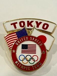 Team USA Tokyo 2020 Pin Badge (Dated) - LAST ONE!