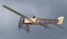 "Model Airplane Plans (FF): BLERIOT XI 1/12 Scale 26"" Wingspan (R/N Models)"