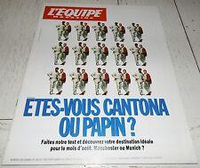 EQUIPE MAGAZINE N°649 1994 JPP PAPIN CANTONA LUIS FERNANDEZ VIRENQUE BRIATORE F1