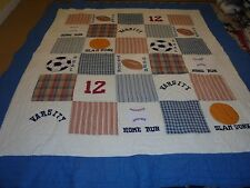 Nice Applique All Sports Quilt