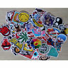 100Pcs Skateboard Vinyl Sticker Skate Graffiti Laptop Luggage Car Bomb Decal