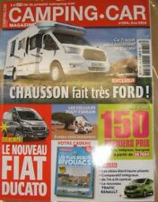 Camping Car N° 264 2014 bivouacs bretagne fiat ducato trafdic renault chausson