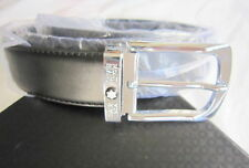 STUNNING MEN MONT BLANC LEATHER BELT FOR SALE, GERMANY MADE, NEW IN BOX, GENUINE