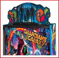 Guardians of the Galaxy Topper Stern Pinball Machine Arcade In Stock
