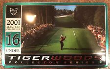 Nike Tiger Woods 2001 Masters Champion collector series #4 Tin & Golf Balls