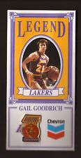 Gail Goodrich--Los Angeles Lakers--Chevron Legends Pin