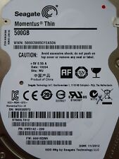 Seagate ST500LT012 SN: W0V | PN: 9WS142-230 | 0001SDM1 | WU | 11/2012 | #12