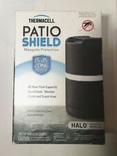 Thermacell Halo Patio Shield Mosquito Repeller MR-D203 Black