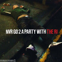 The Ri 'Nvr Go 2 A Party With The Ri' CD 2011 features Shaun Ryder Happy Mondays