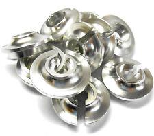 L11023 1/5 Amortiguador Amortiguador inferior pedastol Primavera Soporte De Tapa X 10 Silver