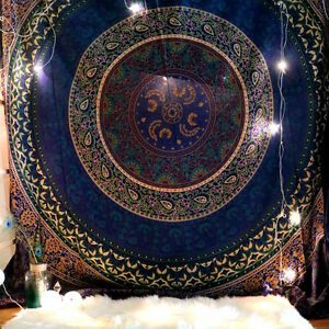 Cotton Bedspread Art Tapestries Mandala Tapestry Wall Hanging Hippie Urban Throw