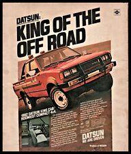 1983 Nissan Pulsar NX Classic Vintage Advertisement Ad D01 Datsun red