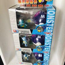 1998 Unopened TOMY Nintendo Pokemon 3 Boxed Figures Squirtle Wartortle Blastoise