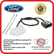 Ford Transit Custom up to 2017 DUMMY OBD PORT anti-theft fake OBD2 replacement