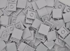 100 x LEGO® STEINE 2 x 2 NOPPEN GLATT FLIESEN FLIESE 3068 NEU HELLGRAU