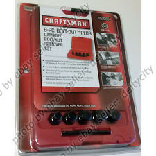 "Craftsman 6-PC BOLT-OUT PLUS Rounded Damaged Nut Remover Socket Set for 3/8"" NEW"