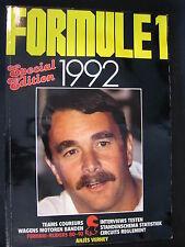 Book Formule 1 1992 door Anjes Verhey
