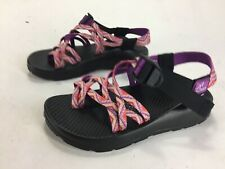Womens Chaco Strappy Fiesta Sandals Pink Purple Size 5