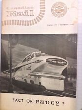 Canadian Rail Magazine Fact Or Fancy December 1965 100517NONRH2