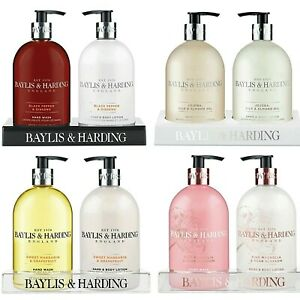 Baylis & Harding Hand Wash Body Lotion Twin Gift Sets - Moisturising 500ml x 2