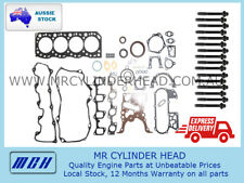 Toyota Hiace Hilux Dyna 5L Full VRS gasket set + Head Bolt kit 3.0L 5LE Diesel