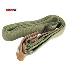 Tactical Heavy Duty Rifle Sling Airsoft Adjustable Rifle Gun Strap Olive Drab