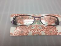 New Laura Ashley Eye Glasses Lexi 52 16 135 Poison Berry