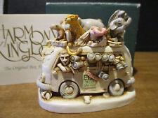 Harmony Kingdom Ed's Safari Ii V1 Peter Driving Wild Animals Uk Made Sgn