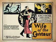 Old Movie Photo Wife Of The Centaur Poster Us Lobby card 1924