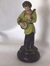 Chalkware Asian Girl Figurine Oriental 20889